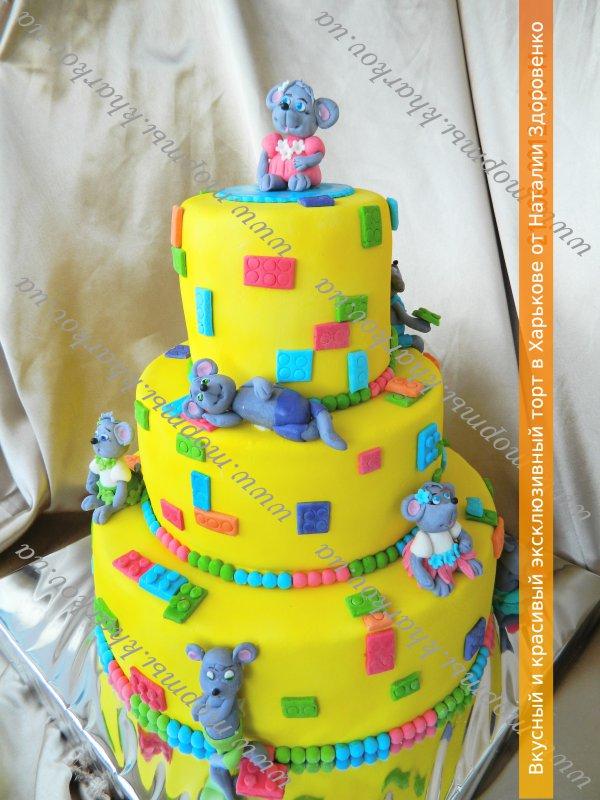 Детские торты дизайн 160