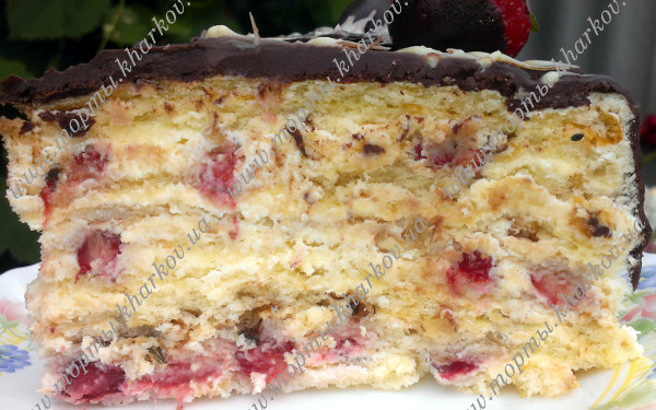рецепт торта молочная девушка с фруктами
