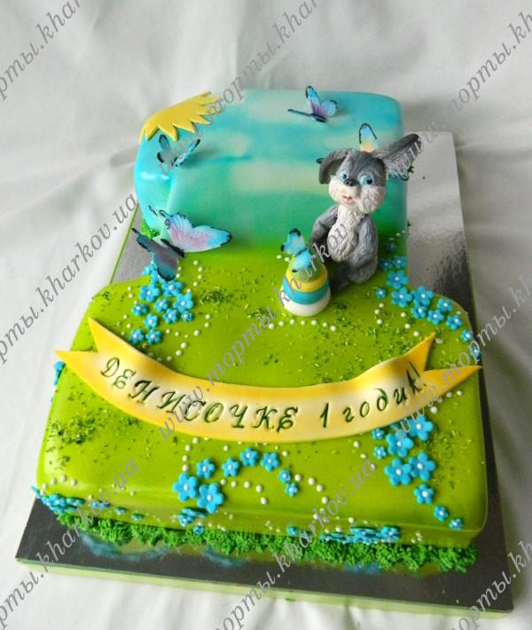 Торт для мальчика 1год фото