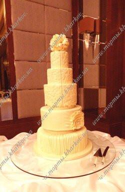 Платье невесты - свадебный торт