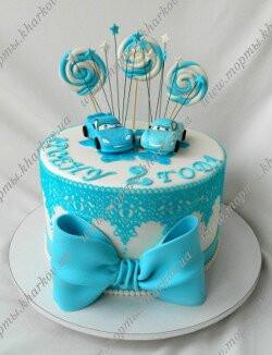 Торт без мастики для мальчика 1