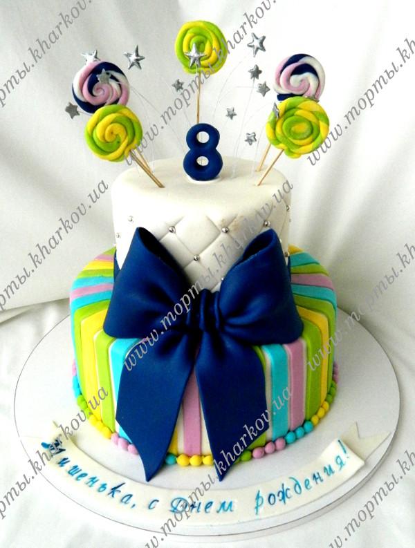 торт фото мальчику 8 лет