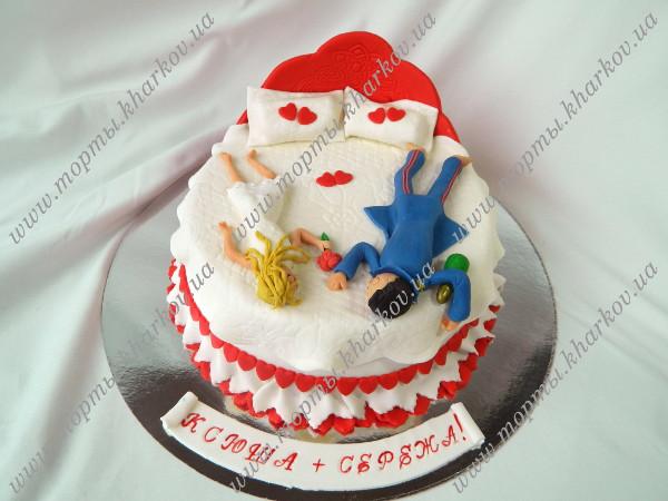 Торт из мастики на годовщину свадьбы
