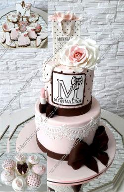 Торт МONNALISA