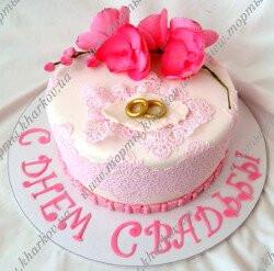 Торт на День свадьбы