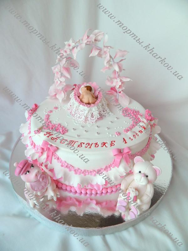 Торт на 1 годик девочке своими руками рецепты