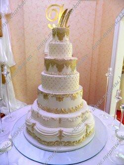 Торт свадебный в стиле -Барокко