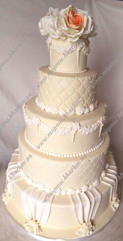 Торт свадебный - королевский