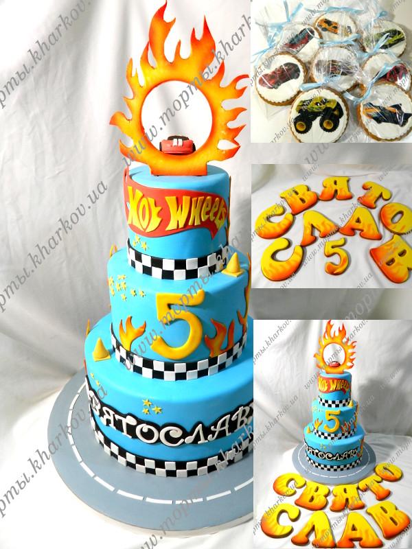 детские торты для мальчиков фото 5 лет