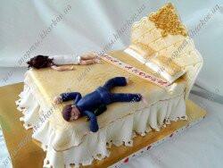 Cвадебный торт с приколом - Кровать